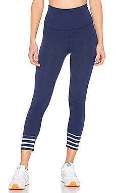 x kate spade Sailing Stripe High Waisted Capri Legging