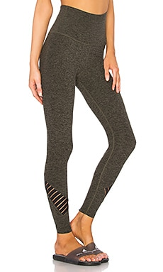 Spacedye Stacked And Sliced High Waisted Legging