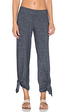 Cloud Heather Ankle Tie Pant