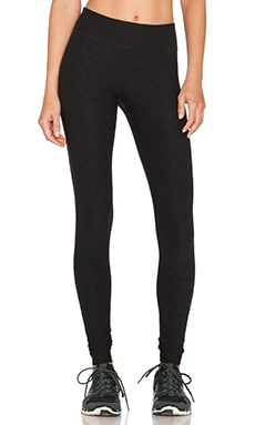 Beyond Yoga Quilted Essential Long Legging in Black