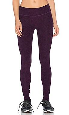 Beyond Yoga Space dye Essential Long Legging in Black & Imperial Violet
