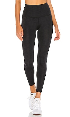 Heather Rib High Waisted Midi Legging Beyond Yoga $70