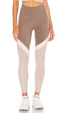 Spacedye Tri Panel Midi Legging Beyond Yoga $110 NEW