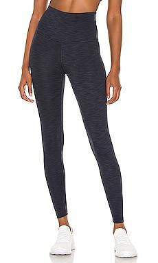 Heather Rib High Waisted Midi Legging Beyond Yoga $99