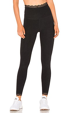 All For Lace High Waisted Midi Legging Beyond Yoga $99