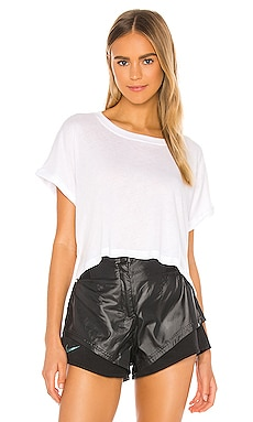 Never Been Boxy Cropped Tee Beyond Yoga $58 BEST SELLER