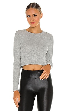 Keep in Line Cropped Pullover Beyond Yoga $45
