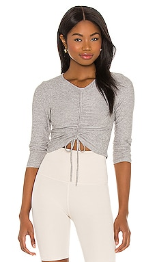 Scrunch It Up Cropped Pullover Beyond Yoga $26 (FINAL SALE)