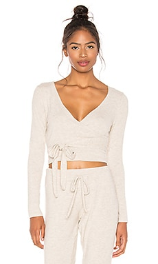 All Around Wrapped Cropped Top Beyond Yoga $70 BEST SELLER