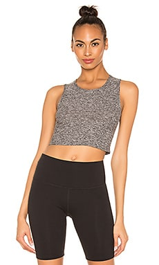 Featherweight Top Notch Cropped Tank Beyond Yoga $60