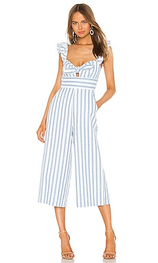 Ruffle Sleeve Jumpsuit BCBGeneration $128