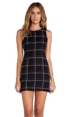 BCBGeneration Multi Way Dress in Black Multi