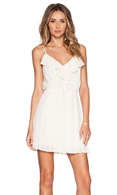 BCBGeneration Mini Dress in Whisper White