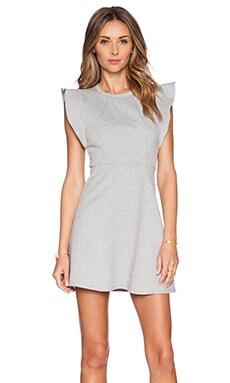 BCBGeneration Knit Ponte City Dress in Heather Grey