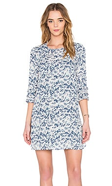 BCBGeneration Shift Dress Blue Lagoon Combo