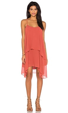 Layered Tank Dress in Tandori Spice