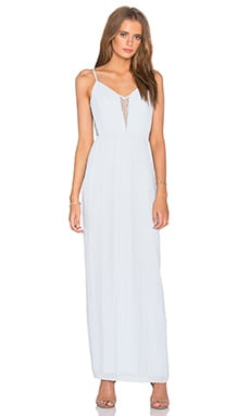 BCBGeneration Maxi Dress in Pearl Blue