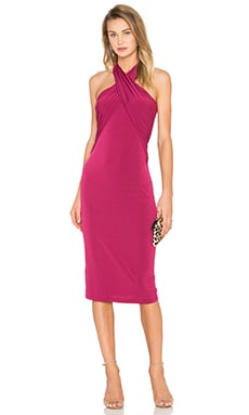 Overlay Dress in Purpleberry