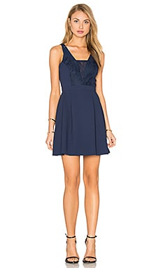 Mini Dress in Dark Navy