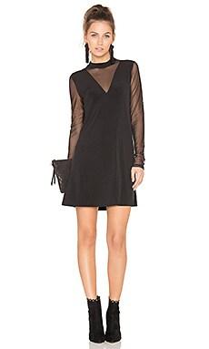 A Line Mesh Dress