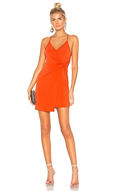 Twist Wrap Surplice Dress BCBGeneration $68