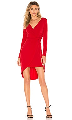 Twist Surplice Dress BCBGeneration $88 BEST SELLER