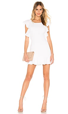 Ruffle Sleeve Mini Dress BCBGeneration $118 NEW ARRIVAL