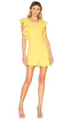 Ruffle Sleeve Mini Dress BCBGeneration $118