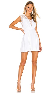 Lace Trim Mini Dress BCBGeneration $67