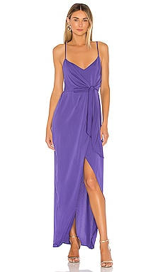 Tie Wrap Maxi Dress BCBGeneration $58