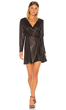 Metallic Wrap Dress BCBGeneration $53