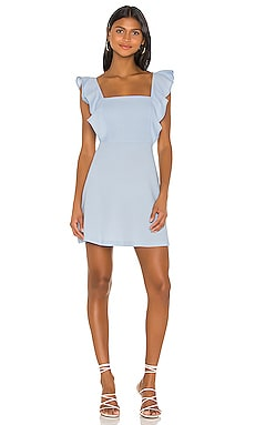 Ruffle Sleeve Square Neck Dress BCBGeneration $98