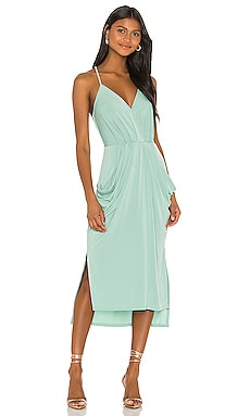 Faux Wrap Midi Dress BCBGeneration $38