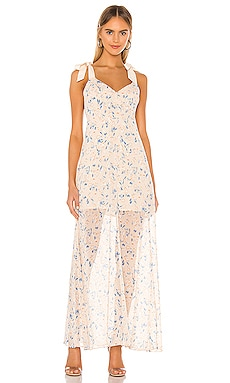 Tie Shoulder Maxi Dress BCBGeneration $96