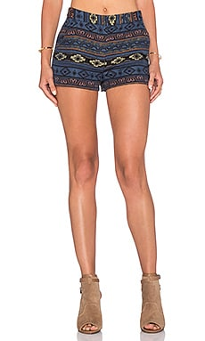 BCBGeneration Tribal Short in Blue Multi
