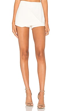 BCBGeneration Mini Skort in White