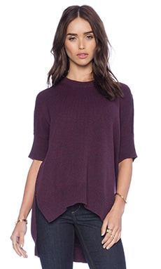 BCBGeneration Dolman Sleeve Sweater in Marled Brulee