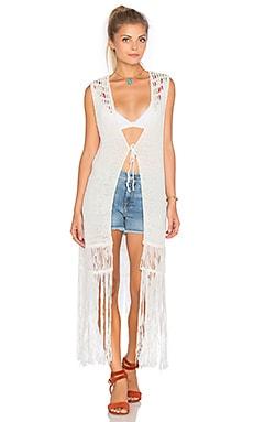 Vest in White Combo