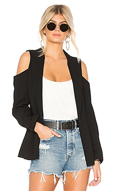 Cold Shoulder Blazer In Black BCBGeneration $138