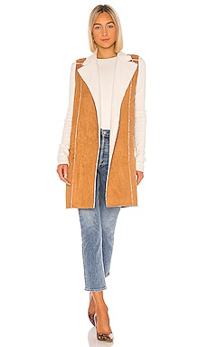 Sherpa Knit Long Vest BCBGeneration $52 (FINAL SALE)