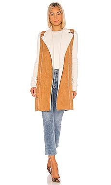 Sherpa Knit Long Vest BCBGeneration $138