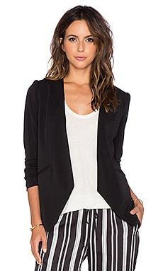 BCBGeneration Draped Blazer in Black
