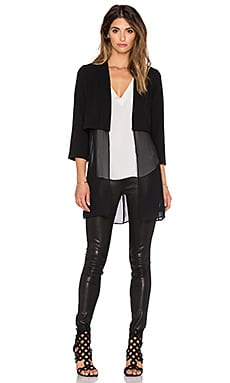 BCBGeneration Long Blazer in Black