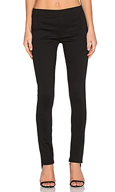 BCBGeneration Ponte Flare Pant in Black
