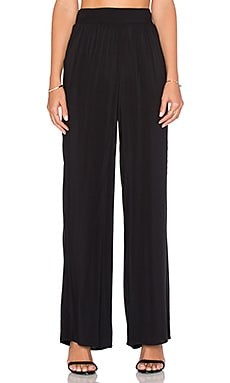 BCBGeneration Wide Leg Pant in Black