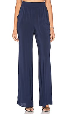 BCBGeneration Palazzo Pant in Deep Blue