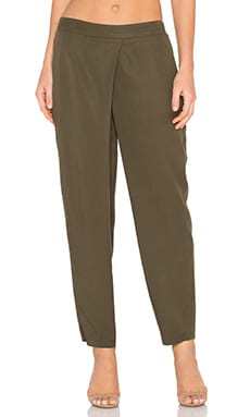 BCBGeneration Crossover Pant in Olive