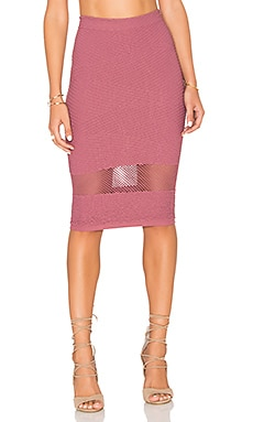 Pencil Skirt in Mauve
