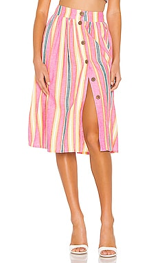 Button Front Midi Skirt BCBGeneration $64