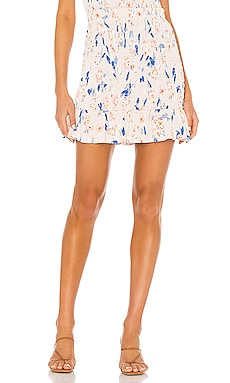 Smocked Mini Skirt BCBGeneration $53